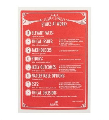 Resolute: Ethics at Work Cards/TG